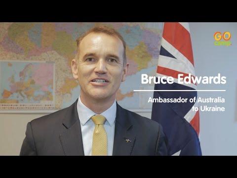 Bruce Edwards, Ambassador of Australia to Ukraine
