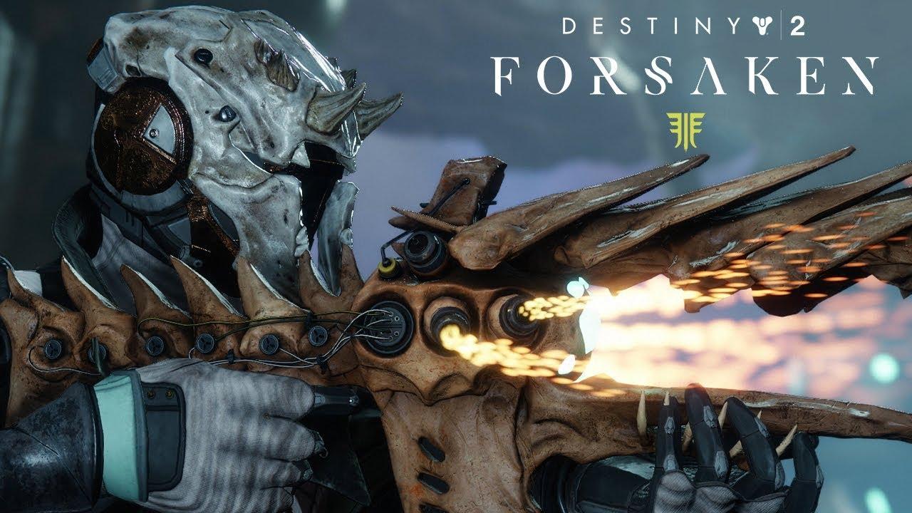 Destiny 2: Forsaken - New Weapons and Gear Trailer