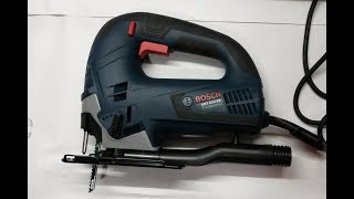 Обзор лобзика BOSCH GST 850 BE Professional