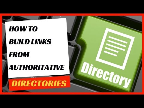 Directory submission link building strategy.