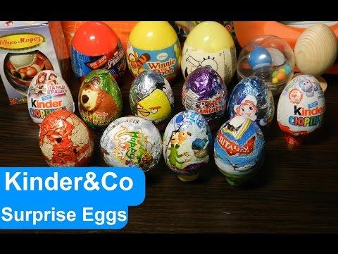 Киндер сюрприз и другие Удивительные яйца игрушки сюрпризы. Что хорошо а что плохо - узнаем