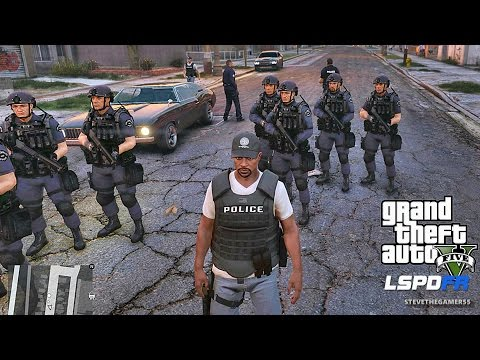 LSPDFR #441 - CITY PATROL!! (GTA 5 REAL LIFE POLICE MOD)
