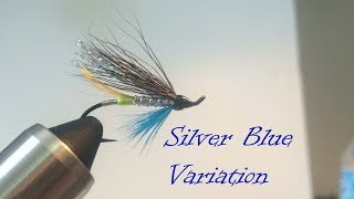 Tying a Silver Blue (Variation) - Atlantic Salmon Fly