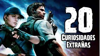 TOP 20: 20 Curiosidades Extrañas De Resident Evil (Saga De Videojuegos)