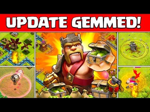Clash of Clans - ♦Gemming the Update!♦ NEW  lvl 5 Dragon Raid