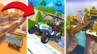 DRIVING GOLF CARTS, DESERT MAP, NEW VIKING SKINS! *SEASON 5!* | Fortnite Battle Royale