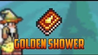 Terraria - Golden Shower Spell