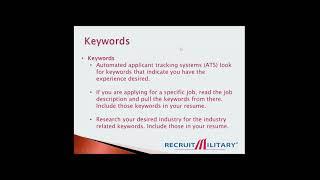 Resume Writing 101 How to Write a Resume as a Military Veteran 1