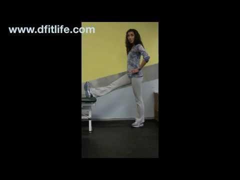 Correct Hamstring Stretch: Personal Trainer Palo Alto