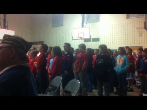 Yalesville School Veterans Day Celebration