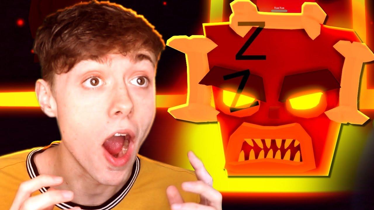Mad City Volcano Tiki Boss Battle Youtube