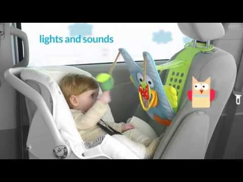 Taf Toys Easier Parening Musical Car Toy - Owl