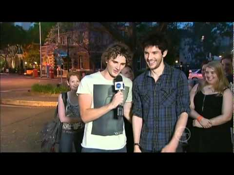 Colin Morgan On The Project Youtube