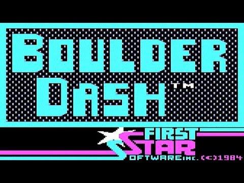 Boulder Dash Gameplay (PC Game, 1984)