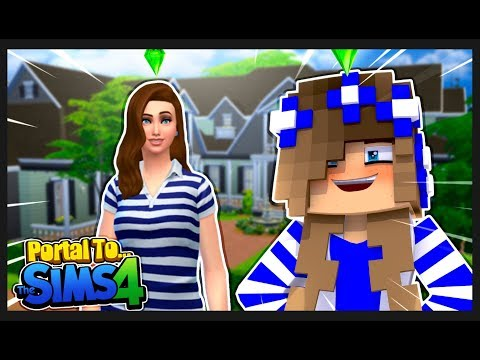 PORTAL TO...THE SIMS 4!! w/Little Carly.