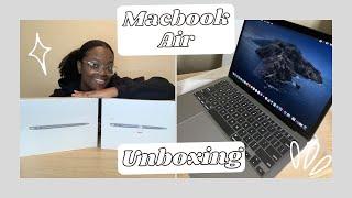 UNBOXING 2 MacBook Air's | ( Besтbuy Open Box Excellent & Brand New Unopened)| 2020
