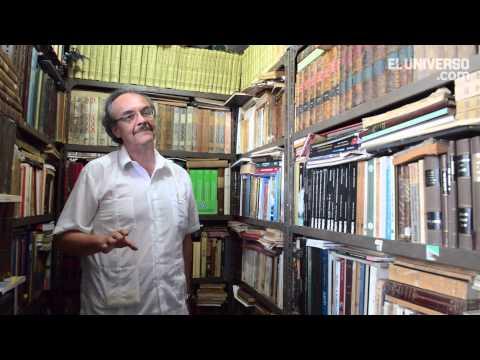 Melvin Hoyos, coleccionista de Guayaquil