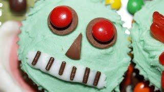 Frankenstein Cupcakes Halloween