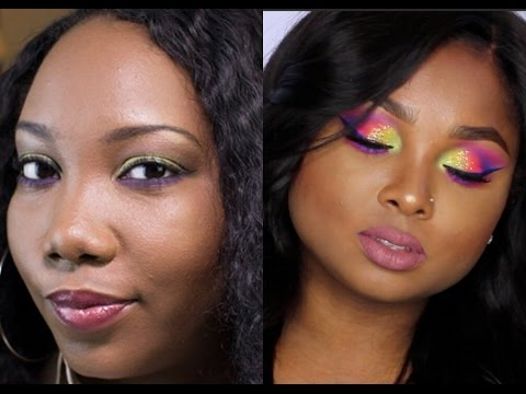 MAC Old Gold w/ Pop of Purple Makeup Tutorial | Collab with Queenii Rozenblad!