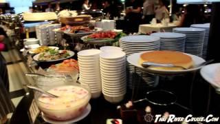 Charter Private Cruise Party Bangkok Luxury Boat International Buffet Dinner Along Chaphraya River