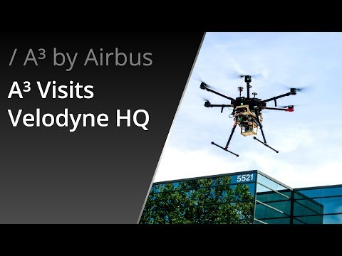 A³ by Airbus at Velodyne LiDAR's Headquarters