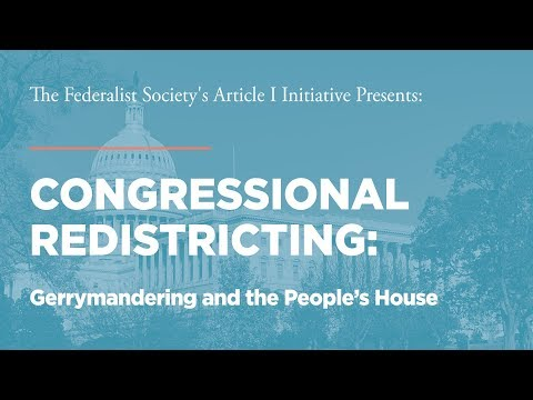 Congressional Redistricting: Gerrymandering and the People's House [Article I Initiative]