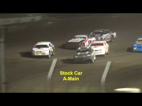 Lakeside Speedway Pure Stocks Stock Cars  A Mains