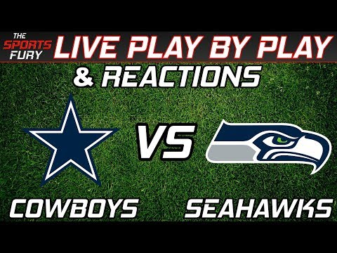 Dallas Cowboys vs Seattle Seahawks   Live Play-By-Play & Reactions