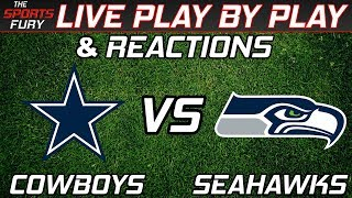 Dallas Cowboys vs Seattle Seahawks | Live Play-By-Play & Reactions