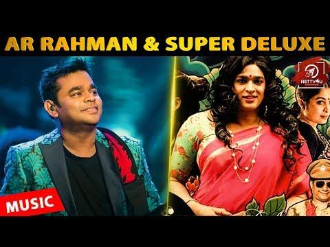 AR Rahman Leaks 2point0 6th Reel | Harris Jayaraj Releases Single | Super Deluxe