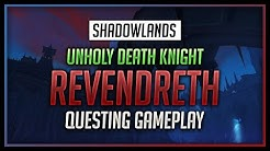 Unholy Death Knight - Revendreth Questing Gameplay - World of Warcraft: Shadowlands