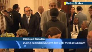 Obama salutes Muslim Americans and celebrates Ramadan with annual White House Iftar Dinner