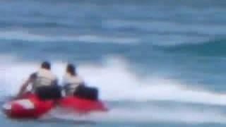 水中バイクBOBを体験できるのは世界で3カ所(guamでは唯一パラダイスアク...