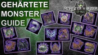 Monster Hunter World: Gehärtete Monster & Drachenälteste Guide (Deutsch/German)