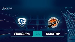Fribourg Olympic v Avtodor Saratov - Full Game - Qualif. Rd. 1 - Basketball Champions League 2018-19