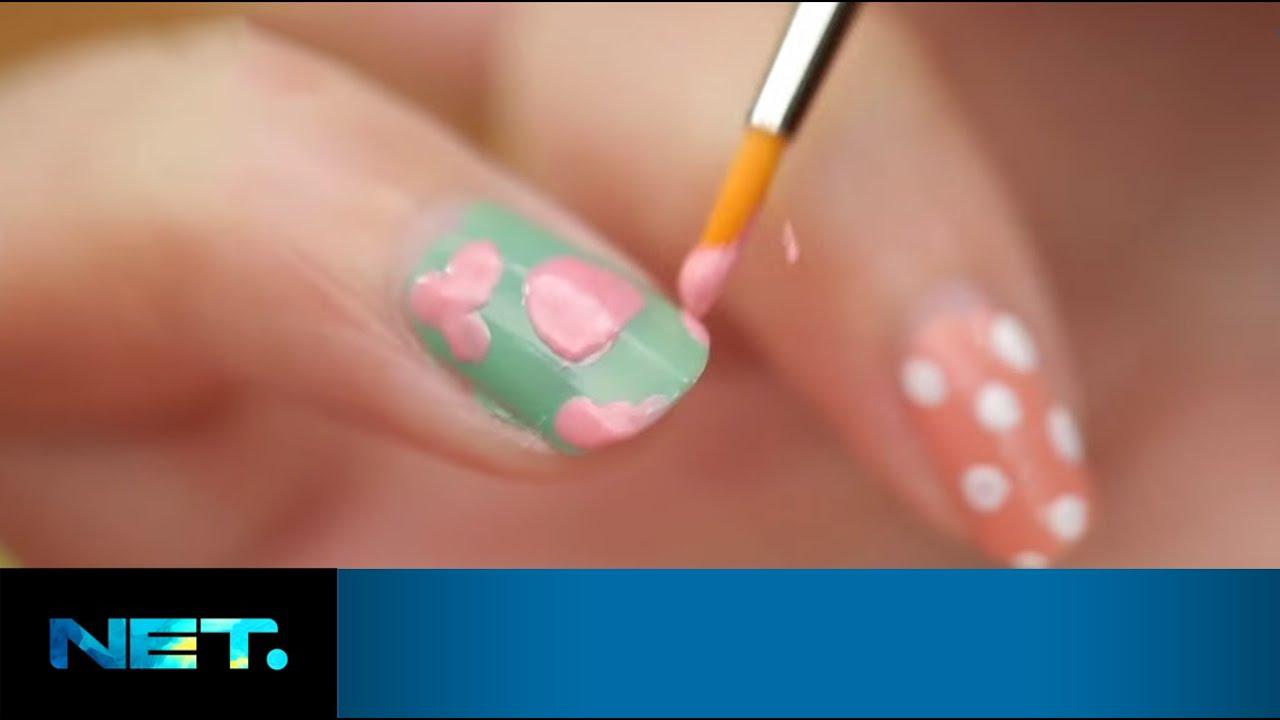 Vintage rose floral nail art ilook kimmy jayanti vintage rose floral nail art ilook kimmy jayanti netmediatama youtube sciox Choice Image