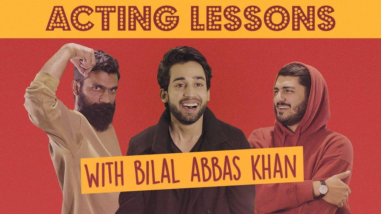 Acting Lessons ft. Bilal Abbas Khan | MangoBaaz