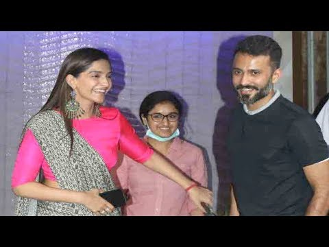Bride To Be Sonam Kapoor SPOTTED With Her Fiance Anand Ahuja