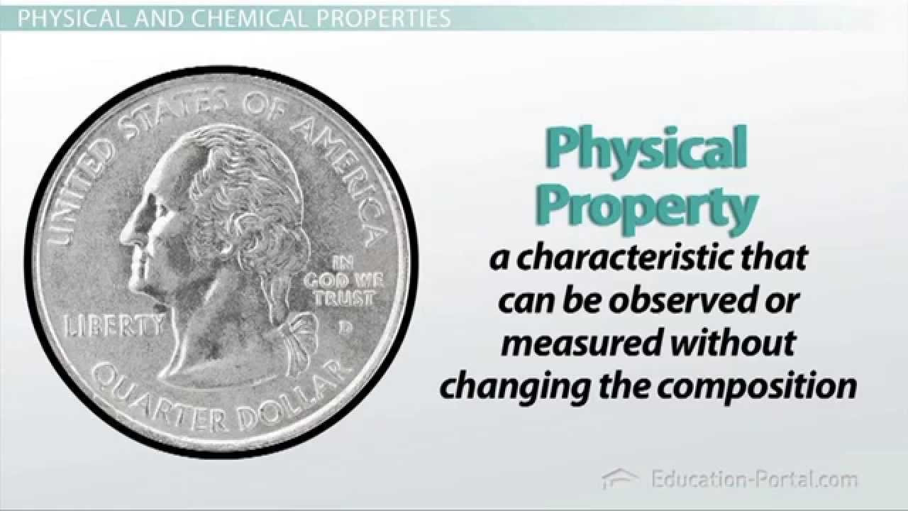 Matter: Physical and Chemical Properties - YouTube