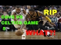 ONE OF THE SADDEST DAY OF MY LIFE: CAVALIERS VS CELTICS GAME 5 REACTION