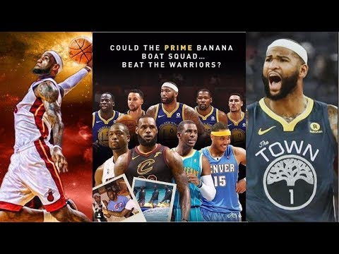 5ebb469f8a6 Can The Banana Boat Squad The 2018-2019 Warriors  Starters