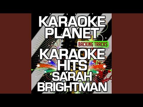 So Many Things (Karaoke Version) (Originally Performed By Sarah Brightman)