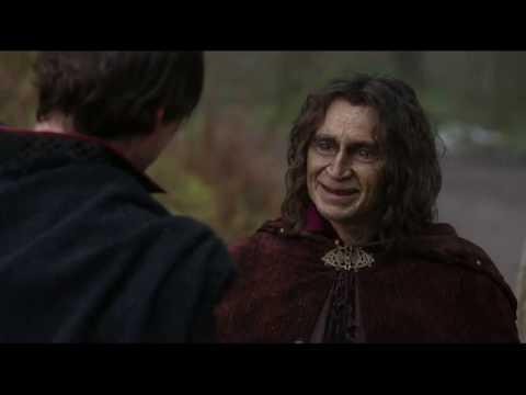 Шериф Ноттингемский рассказывает Румпельштильхцену о Робин Гуде  2x19