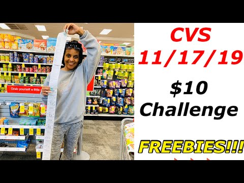 cvs-$10-challenge-11/17/19-|-check-this-out!!!-👌🏽🔥🙌🏽