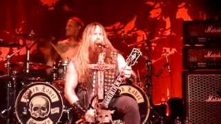 Скачать BLACK LABEL SOCIETY HD Destruction Overdrive Milan Italy 19 06 2014 TinaRnR