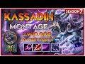 Kassadin Montage - Best Kassadin Plays S7 - Kassadin Pentakill Compilation   League of Legends