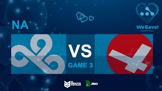 Cloud9 vs CR4ZY - Game 3 | WeSave! Charity Play | 23 Creative VN