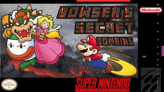 Bowser's Secret Domains / Complete Playthrough (100%) / Super Mario World Hack
