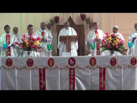 Funeral Service of Fr. Carl L Dincher S.J. at St.Joseph Cathedral, Jamshedpur, India