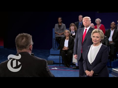 Clinton and Trump Exchange Compliments | Election 2016 | The New York Times